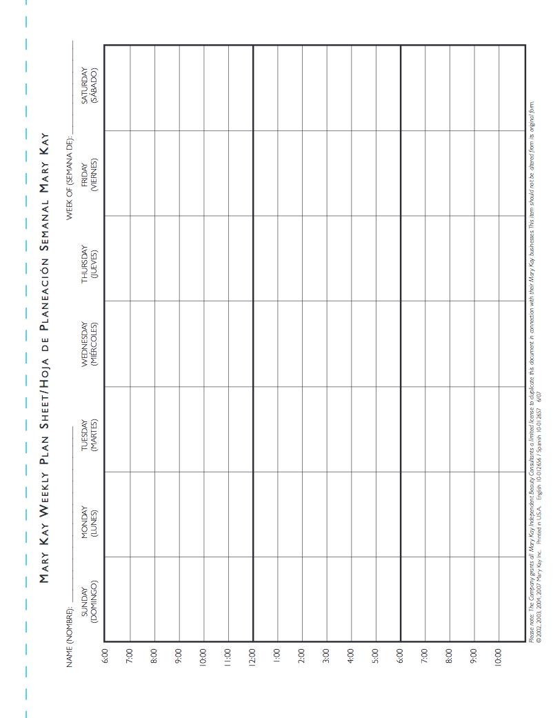 weekly accomplishment sheet