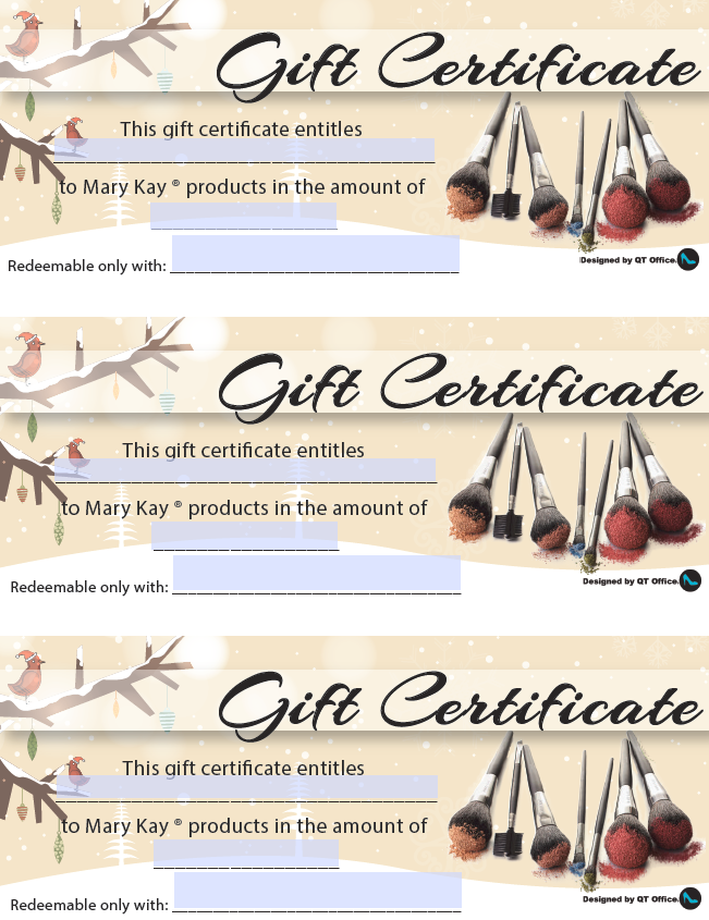Belle Martin Unit Website United States Gift Certificates