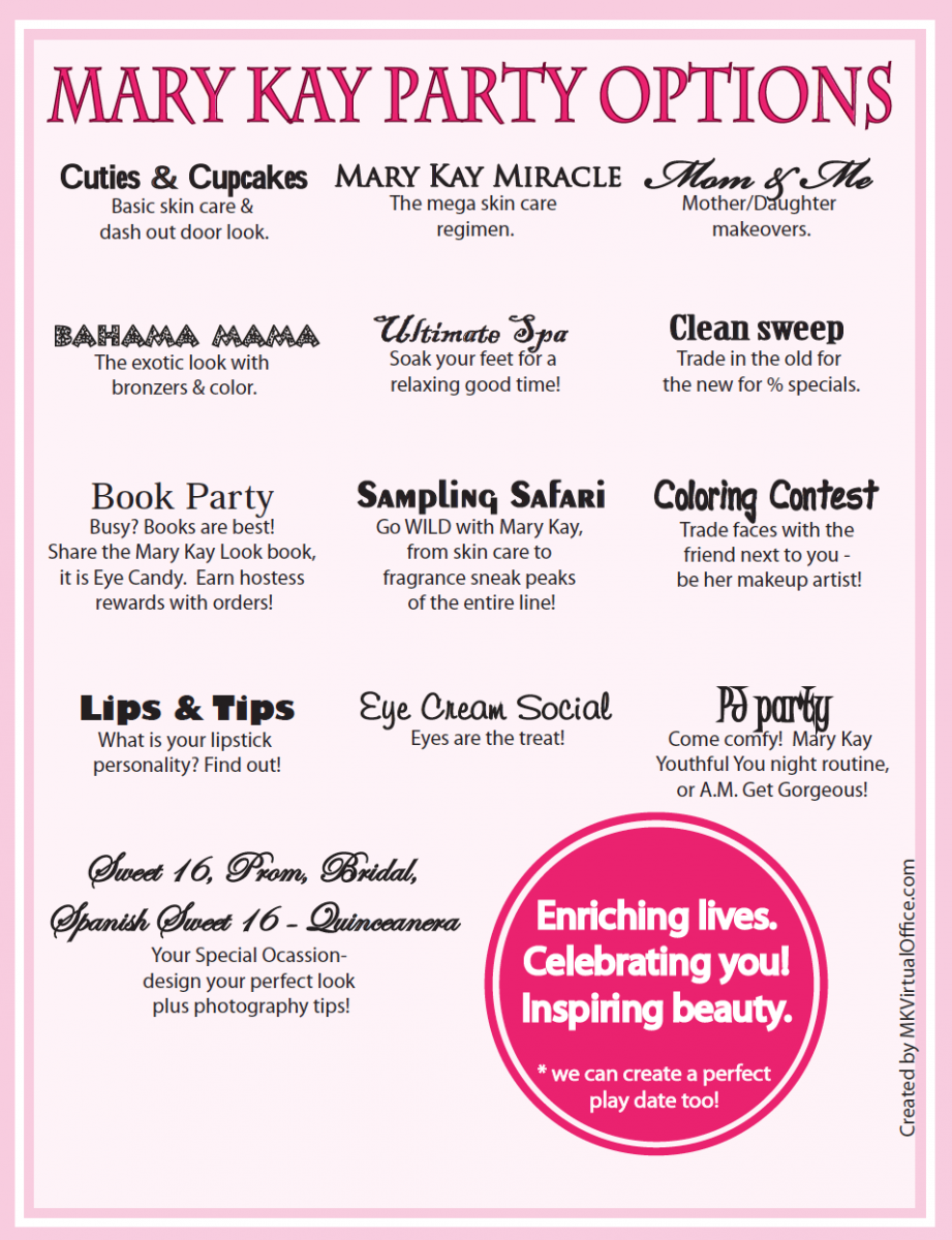 Pics Photos - Mary Kay Party Invitations Index Of