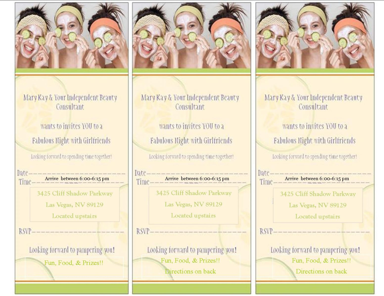 Mary kay hostess packet office halloween contest invite view