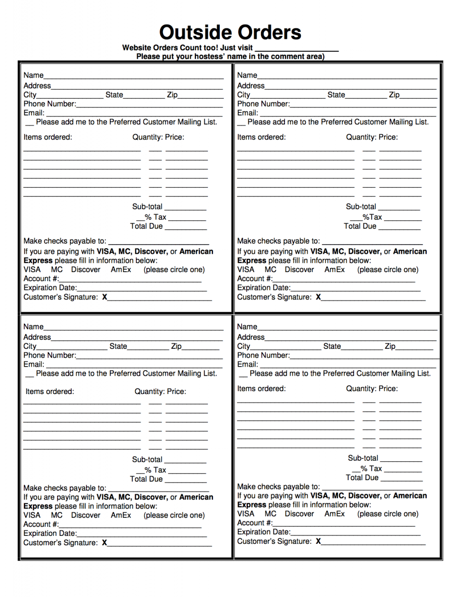 mary kay consultant order form pdf